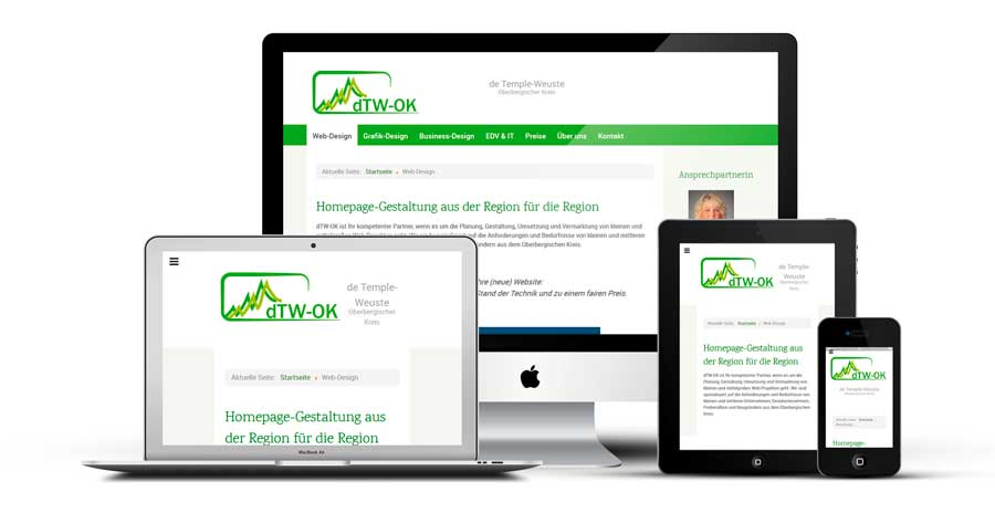 responsive Devices dTW OK